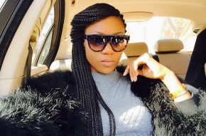 Who's threatening Yvonne Nelson andwhy?